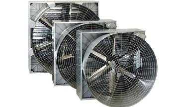 Řemenové ventilátory s konusem